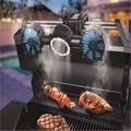 Sharper Image 12-LED Barbecue Grill Light & Fan