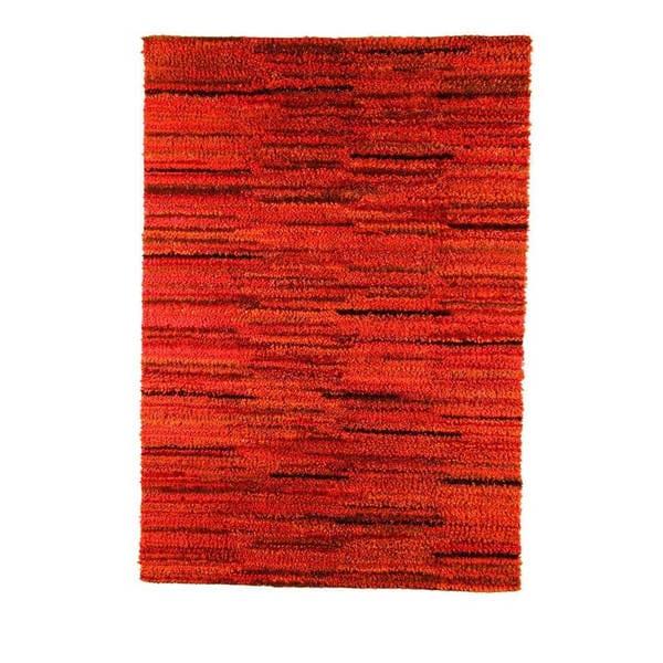 Handmade Mat Mix Rust Rug (India)