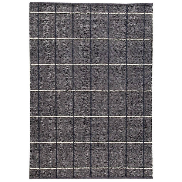 M A Trading Indian Hand Woven Brooklyn Charcoal Rug 4 X27