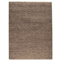 M.A.Trading Indian Hand-woven Square Brown Rug - 6'6 x 9'9