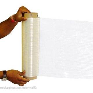 12-inch 1500-foot 47-gauge Hand Wrap Down Gauge Stretch Film (8 Rolls)