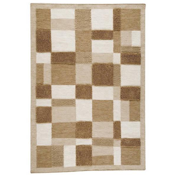 Handmade M.A.Trading Indian Veracruz Beige Rug (8'3 x 11'6) (India)