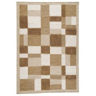 M.A.Trading Indian Hand-woven Veracruz Beige Rug (8'3 x 11'6)