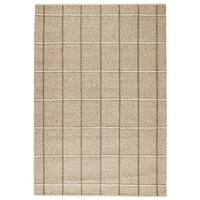 M.A.Trading Indian Hand-woven Brooklyn Beige Rug (5'6 x 7'10)