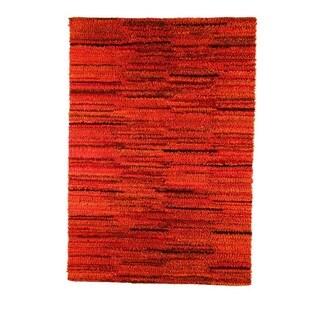 M.A.Trading Indian Hand-woven Mat Mix Rust Rug (8'3 x 11'6)