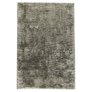 M.A.Trading Indian Hand-woven Sunshine Silver Rug (8'x10')