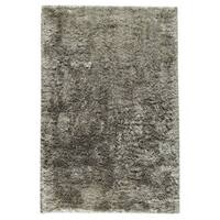 Handmade M.A.Trading Indian Sunshine Silver Rug - 8' x 10' (India)