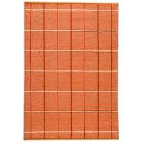 Handmade M.A.Trading Indian Brooklyn Rust Rug (India)