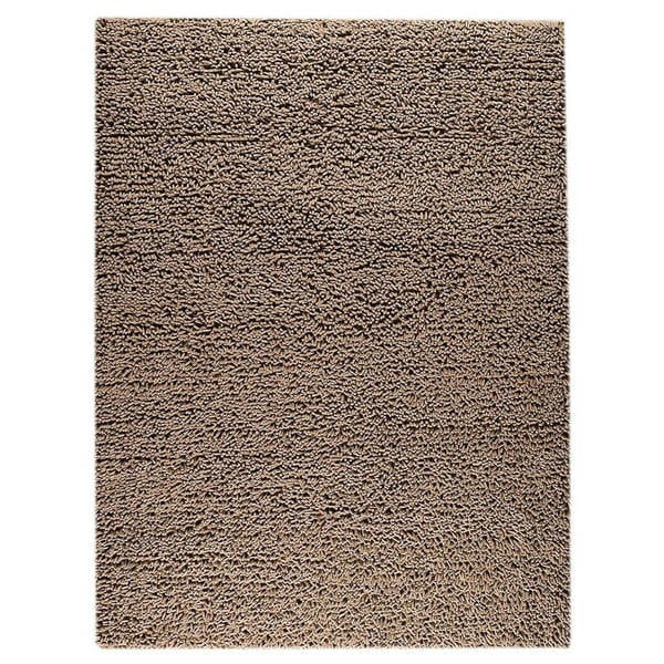 M.A.Trading Indian Hand-woven Square Brown Rug (8'3 x 11'6)