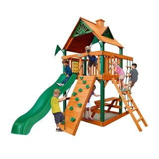 Gorilla Playsets Chateau Tower Swing Set with Timber Shield|https://ak1.ostkcdn.com/images/products/11533911/P18480945.jpg?_ostk_perf_=percv&impolicy=medium