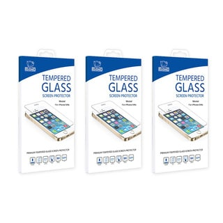 Rhino 9H Hardness Tempered Glass Screen Protector for Apple iPhone 6/ 6s Plus (Pack of 3)