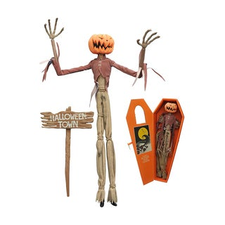 Diamond Select Toys Night before Christmas Pumpkin King Jack Coffin Doll