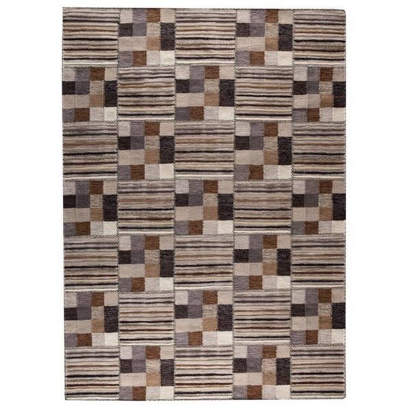 Handmade M.A.Trading Indian Khema4 Light Grey Rug (8'3 x 11'6) (India)