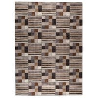 M.A.Trading Indian Hand-woven Khema4 Light Grey Rug (8'3 x 11'6)