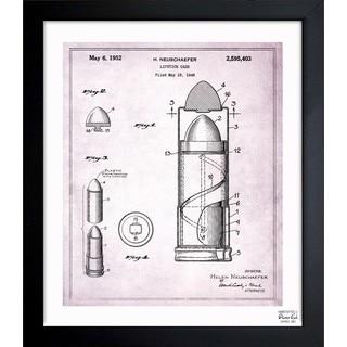 Oliver Gal 'Lipstick Case 1952' Framed Blueprint Art