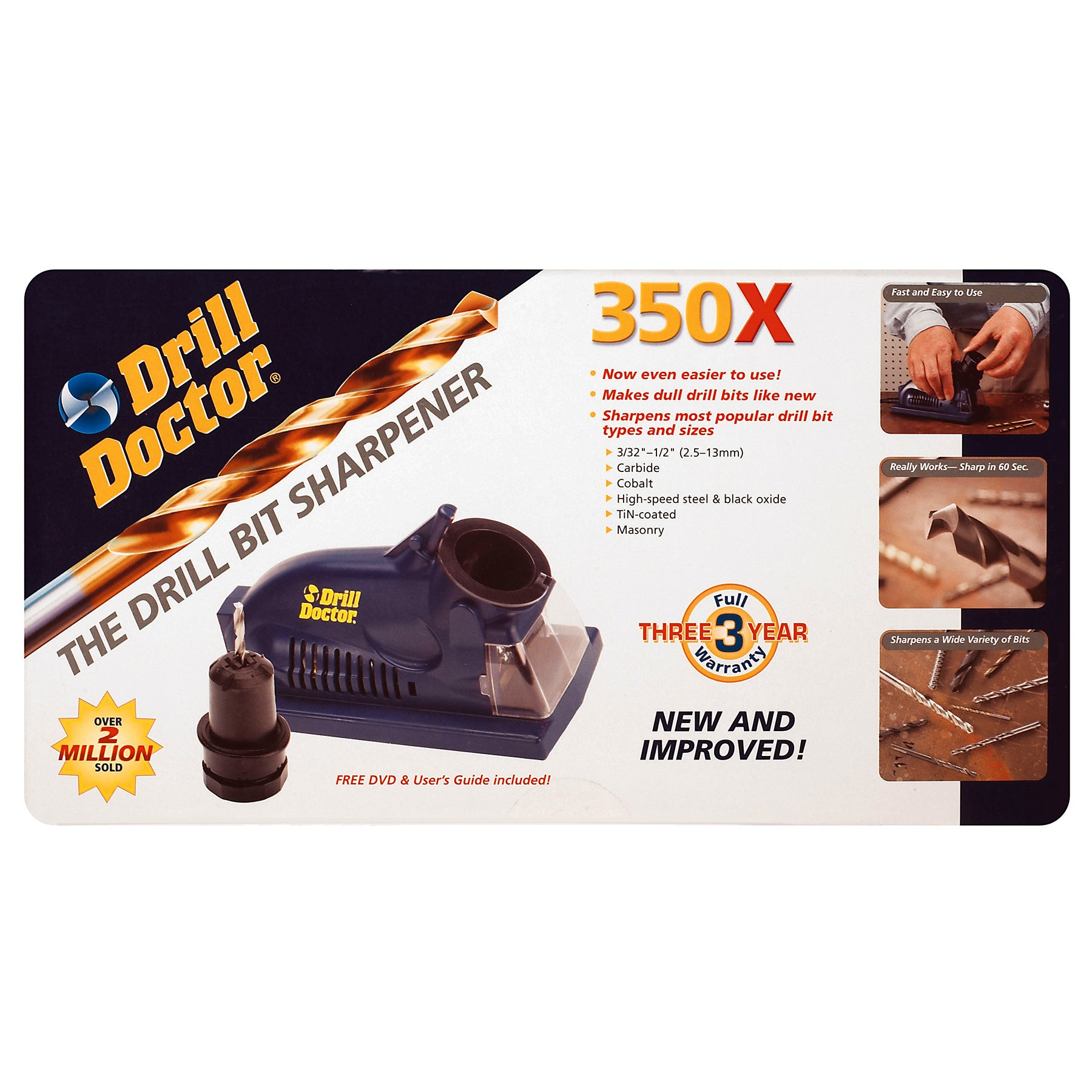 Drill Doctor Drill Bit Sharpener (Power tool accessories)...