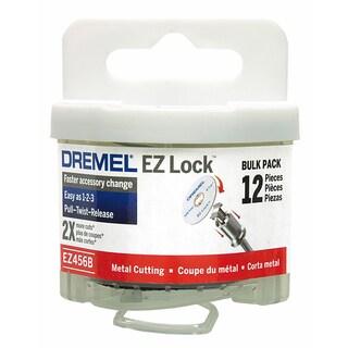 "Dremel EZ456B 1-1/2"" Cut-Off Wheel Metal Blade 12-count"