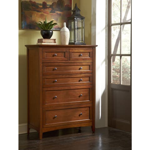 Simply Solid Aiden Solid Wood 6-drawer Chest