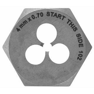 Vermont American 21217 4mm High Carbon Steel Metric Die