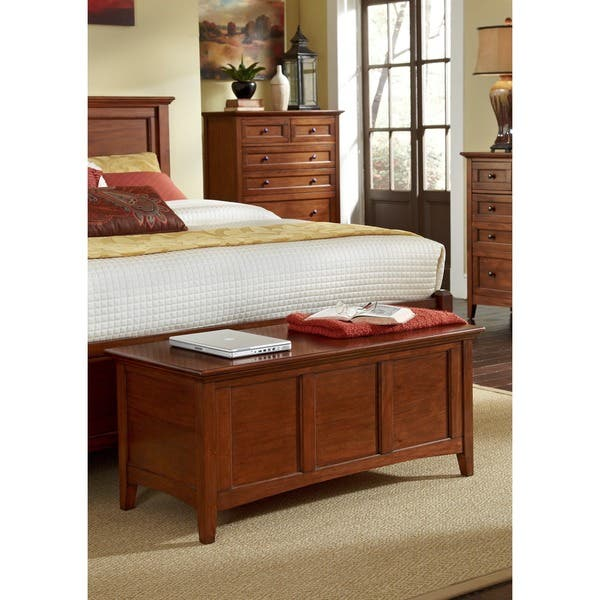 Shop Simply Solid Aiden Solid Wood 7-piece King Bedroom ...