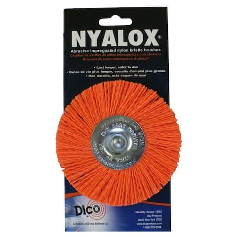 "Dico 7200048 4"" Coarse Nyalox Wire Brush"