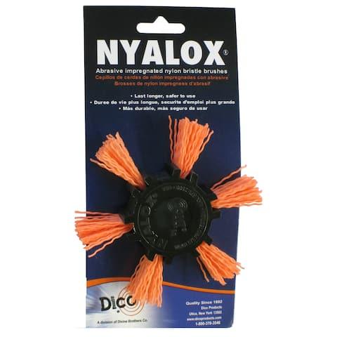 Dico 7200045 4-inch Coarse Nyalox Flap Wire Brush