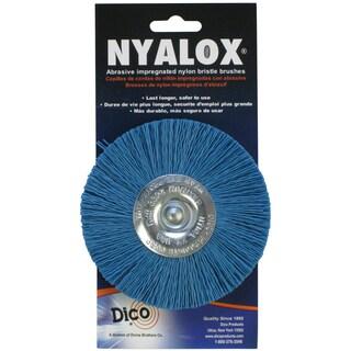 Dico 7200042 4-inch Medium/Fine Nyalox Wire Brush