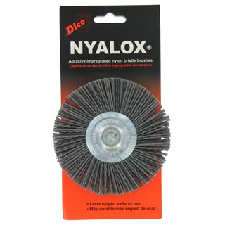 "Dico 7200036 4"" Coarse Nyalox Wire Brush"