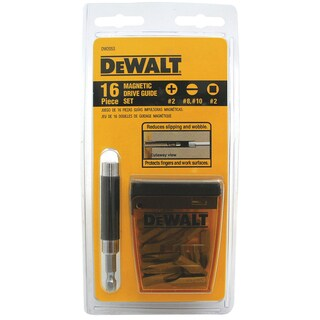 DeWalt DW2053 16-piece Magnetic Driver Guide Set