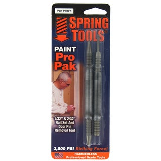 Spring Tools PM407 Paint Pro Pak Nail Set and Door Pin Remover