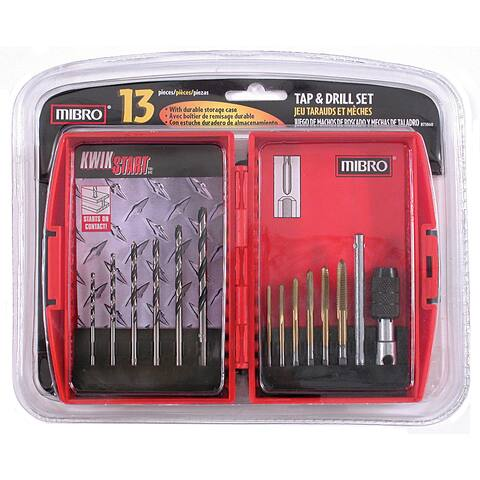 Mibro 873860 13-piece Tap and Drill Set