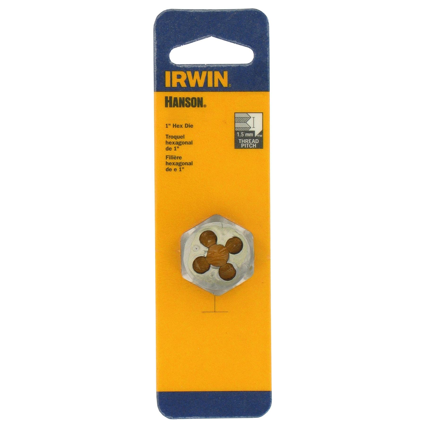Irwin Hanson 9742 1 12mm-1.25 Hexagon Metric Die