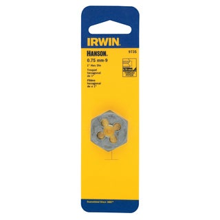 Irwin 9735 9 MM To 0.75 MM HCS Hex Die