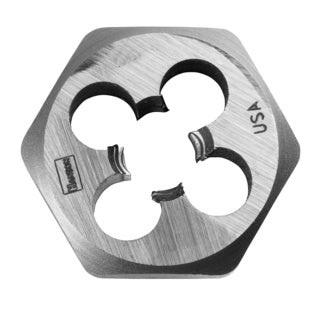 Irwin 9440 7/16-inch To 20 NF High Carbon Steel Hex Die