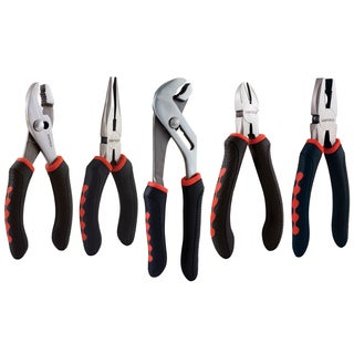 Sheffield 58527 5-piece Pliers Set