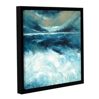 Stuart Roy's ' Winter Norfolk Sea' Gallery Wrapped Floater-framed Canvas