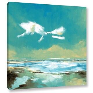 Stuart Roy's ' Beach I' Gallery Wrapped Canvas