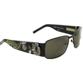 Ed Hardy Ehs-041 Black Grey Catcher Sunglasses|https://ak1.ostkcdn.com/images/products/11534669/P18481697.jpg?impolicy=medium
