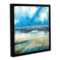 Stuart Roy's ' Regatta 1' Gallery Wrapped Floater-framed Canvas