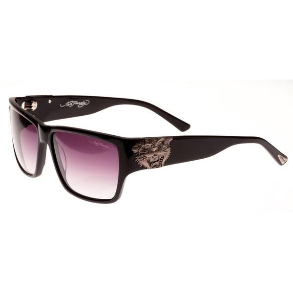 a8226c2113c Shop Ed Hardy Ehs Tiger Mouth Men s Black Sunglasses - Free Shipping ...