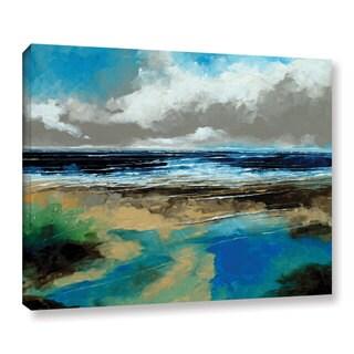 Stuart Roy's ' Seascape I' Gallery Wrapped Canvas