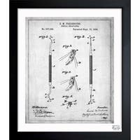Oliver Gal 'Dental Excavator 1896' Framed Blueprint Art