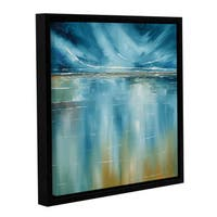 Stuart Roy's ' Seascape' Gallery Wrapped Floater-framed Canvas