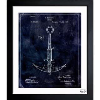 Oliver Gal 'Anchor 1887' Framed Blueprint Art|https://ak1.ostkcdn.com/images/products/11534910/P18481855.jpg?impolicy=medium