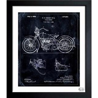 Link to Oliver Gal 'Harley, 1928' Framed Blueprint Art Similar Items in Canvas Art