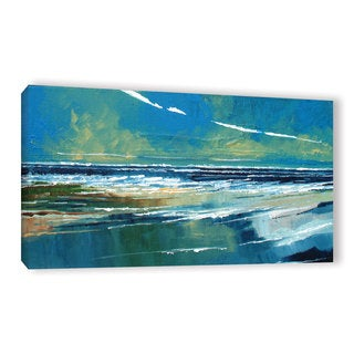 Stuart Roy's ' Rectangular Sea View I' Gallery Wrapped Canvas