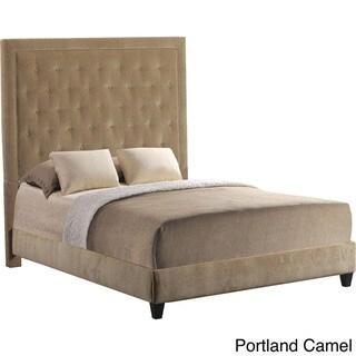 Eden Tufted Upholstered Queen Bed Frame