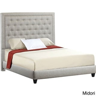 Eden Tufted Upholstered Queen Bed Frame