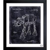 Oliver Gal 'Toy Vehicle, 1982' Framed Blueprint Art