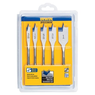 Irwin 88885 Speedbor Blue Groove Set 5-count